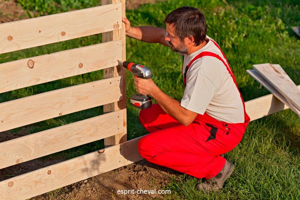 La clôture
